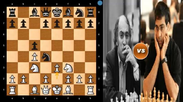 The Only CHESS Game When VISWANATHAN ANAND Beat MIKHAIL TAL