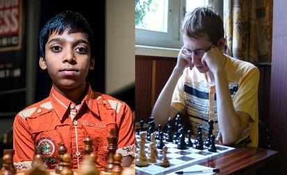 Praggnanandhaa crush grandmaster