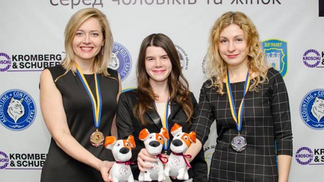 Yulia Os'mak won Ukrainian Woman Championship 2017.