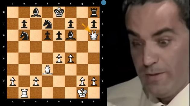 MUST SEE!!! The CHESS Game When ANAND TRAPS KASPAROV QUEEN
