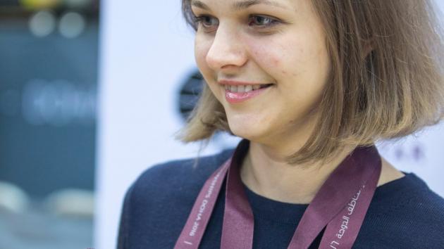 Anna Muzychuk: we'll be back!