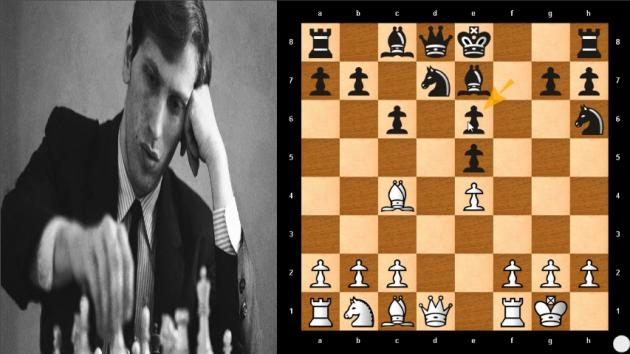 A Very ATTRACTIVE CHESS Game By BOBBY FISCHER Destroy STRONG GRANDMASTER Just 10 Move