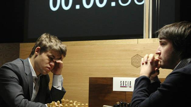 Intermediate & Advanced Levels: Positional play: Carlsen–Radjabov, Tata Steel 2015