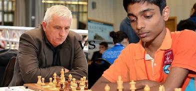 Aravindh Chithambaram Defeated GM to win Tittle