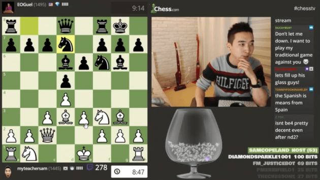 My Win On The Chess TV Stage