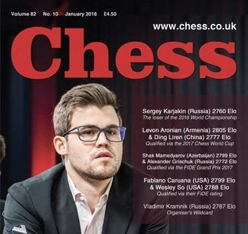 Interview in CHESS magazine