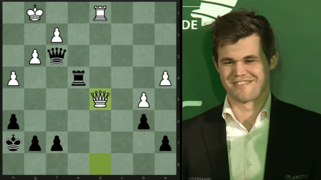 How Carlsen won the World Blitz - A roundup of all his games