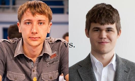 Amazing Chess Game: Magnus Carlsen vs Yuriy Kryvoruchko