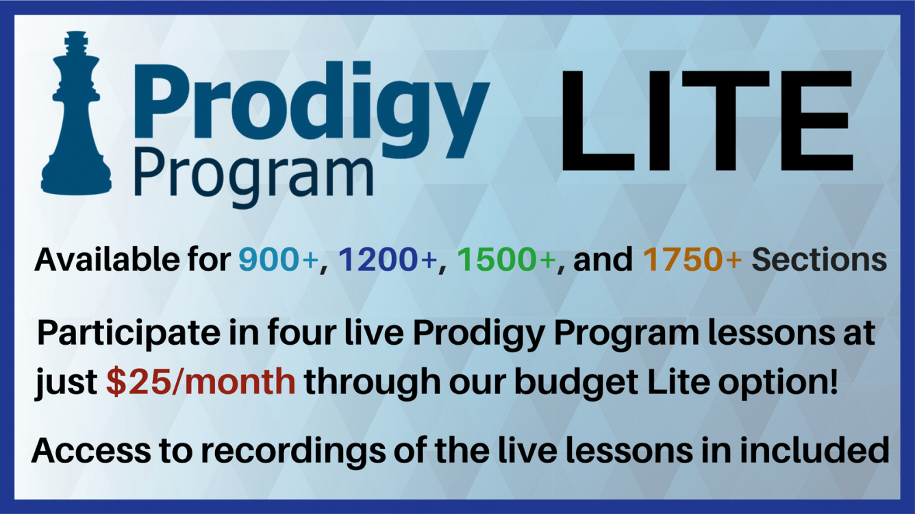 Introducing Prodigy Program Lite: $25/Month