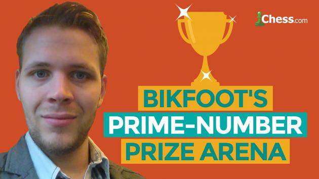 Bikfoot's First Prime Number Prize Arena