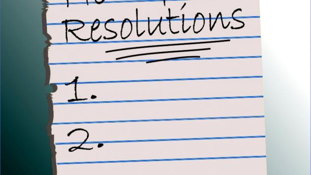 2018 Resolutions - A New Hope
