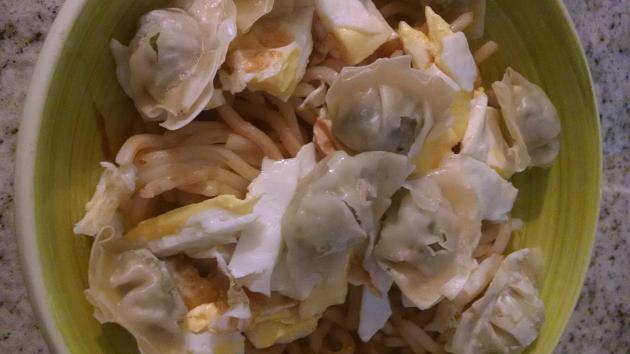 GFE ft A Simple Asian-ish Noodle Breakfast
