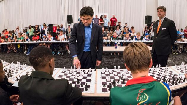 Massive week for African Chess with Super Grandmaster Hikaru Nakamura in South Africa