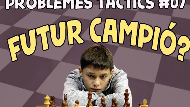 Escacs Problemes Tàctics #07 Andrey Esipenko...futur campió?