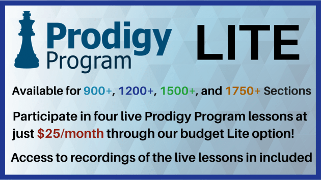Feb 2018 Prodigy Program Lite + Updates