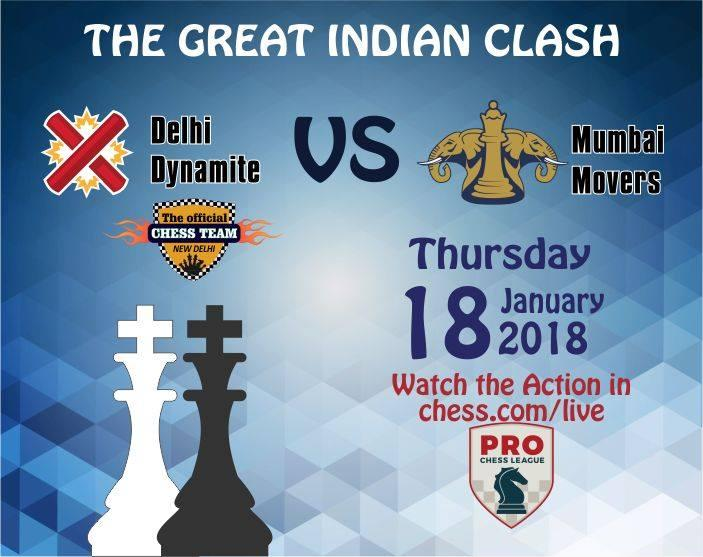 Delhi Dynamite starts with a draw against Mumbai Movers