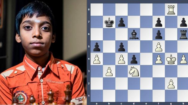 How to trap Rook: Learn from Praggnanandhaa