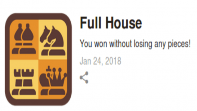 Achieved: Full House