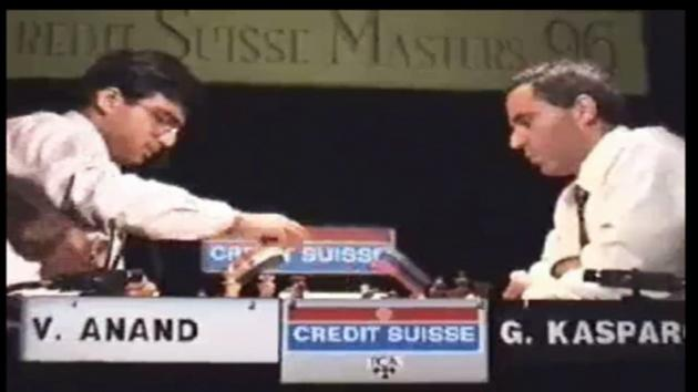 Kasporov biggest blunder against Anand