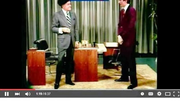 Bobby Fischer Meets Bob Hope - Hilarious!