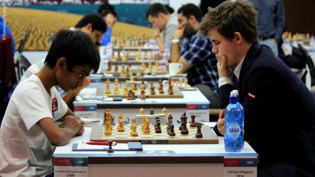 Aravindh Chithambaram vs Magnus Carlsen