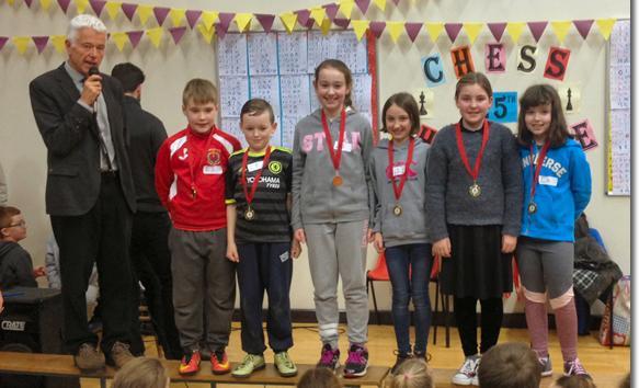 Bunclody School parents vs pupils Chess Challenge