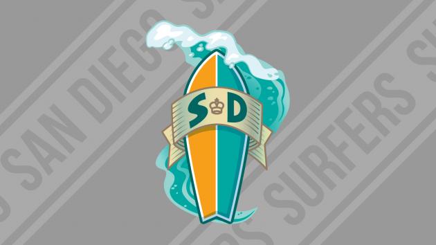 San Diego Surfers Glide By Seattle Sluggers