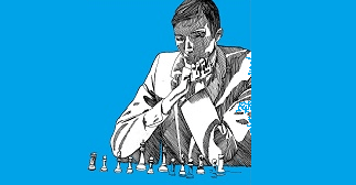 What got me playing chess = Bobby Fischer
