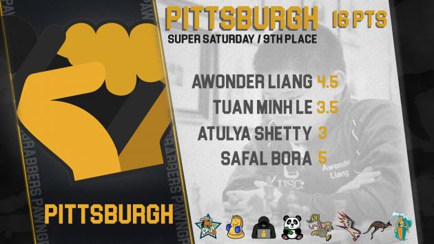 """Pittsburgh Achieves Much-Needed """"Draw"""" in Super Saturday"""