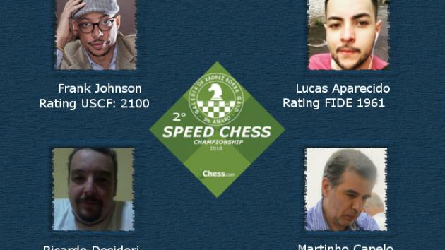 Second GXBG Speed Chess Championship
