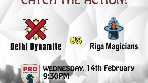 Delhi Dynamite crushes Riga Magicians 11-5