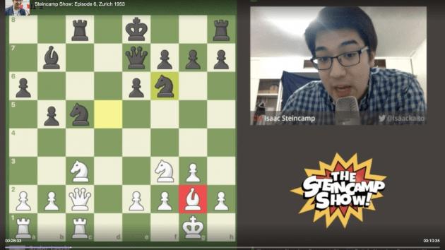 My latest chess.com stream: 1953 Zurich Candidates Tournament