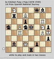 Chess Puzzle . White to play and mate in two