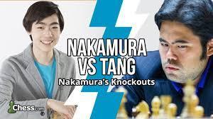 Hikaru Nakamura(Hikaru) vs. Andrew Tang(penguingm1) bongcloud attack