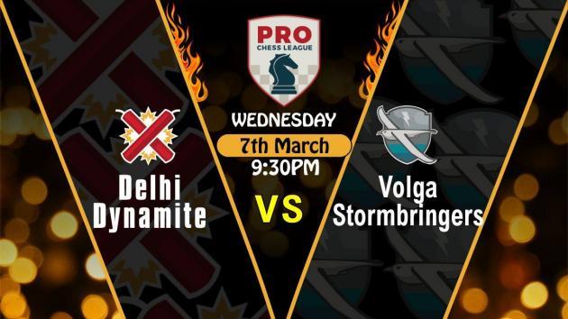 Delhi Dynamite loses to Volga Stormbringers 9-7