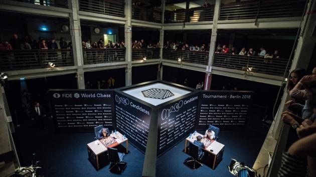 Turniej Kandydatów FIDE World Chess - Runda 1