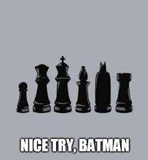 Nice try batman