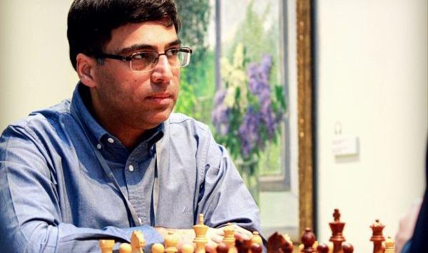 Anand defeats time by IM Juan Armando Röhl Montes