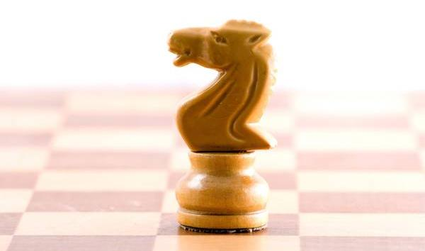 Beautiful checkmate from Knight.