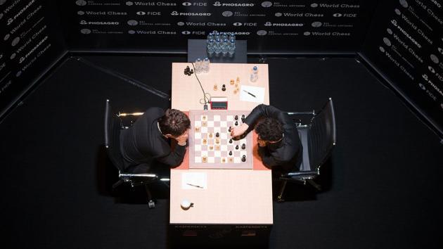 Caruana Sole Leader Halfway FIDE Candidates' Tournament