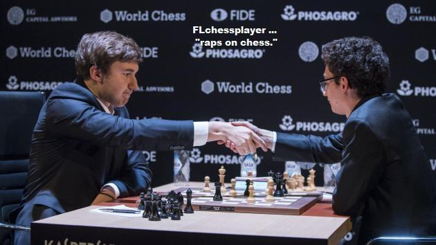 A brave and daring chess sacrifice ...
