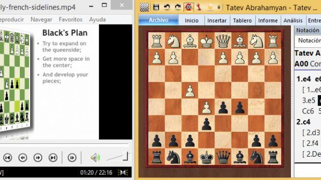 Aprendiendo ajedrez de los GM