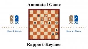Rapport vs Keymer - Grenke Chess Open