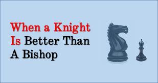 Knight against Bishop Endgame