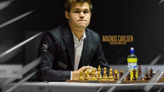 SUPER HERO MAGNUS CARLSEN