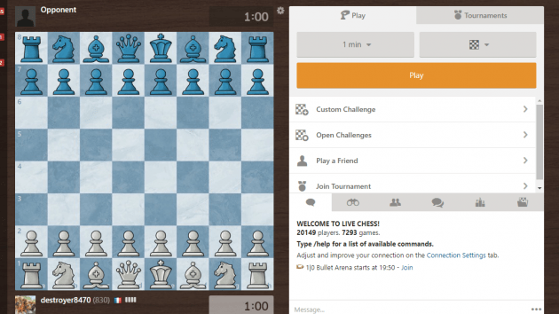 Chess Education offer for daily matchs live anaylses.