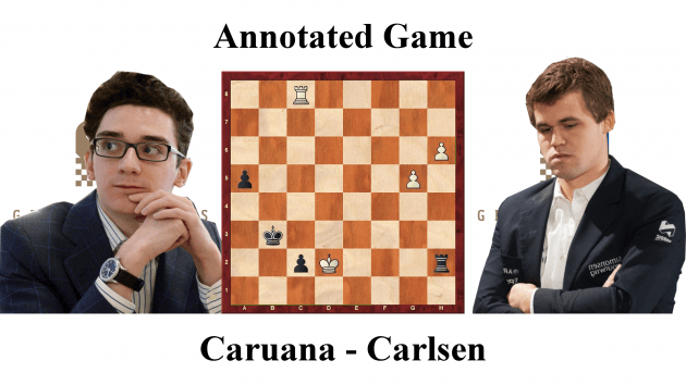 Caruana vs Carlsen - Grenke Chess Classic