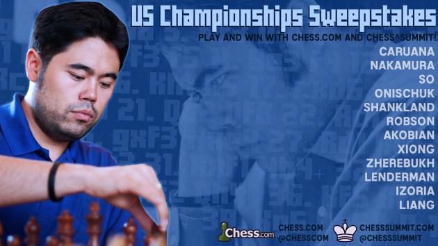 US Chess Championships Sweepstakes: Win Chess.com Diamond Memberships!
