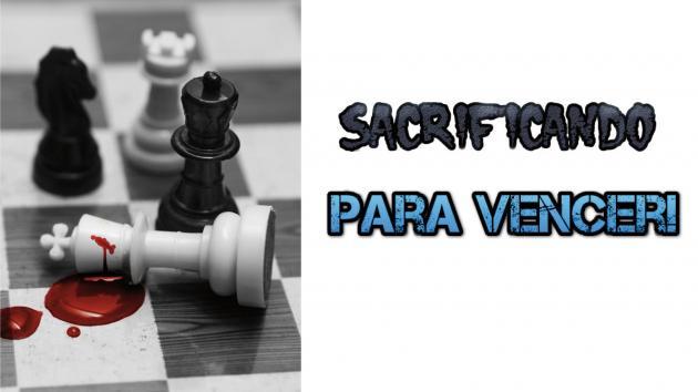 Sacrificando peças para vencer no xadrez!