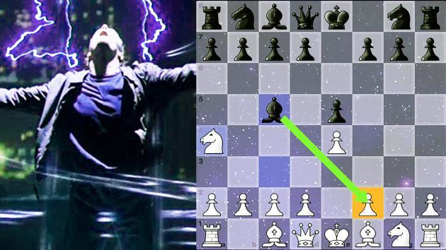 A Partida Imortal do Empate no Xadrez!